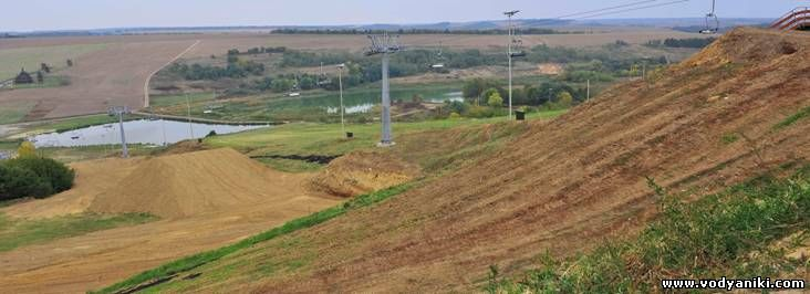 Водяники-земельные работы 2010